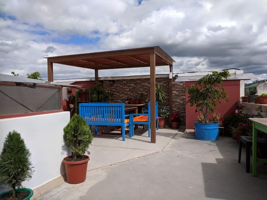 Rooftop Pergola