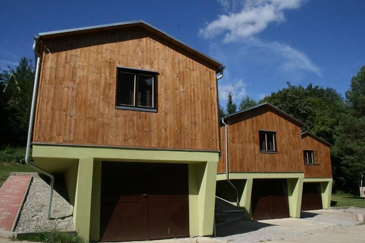 Les park Vřesovice - Vřesovice - Cabaña en la naturaleza