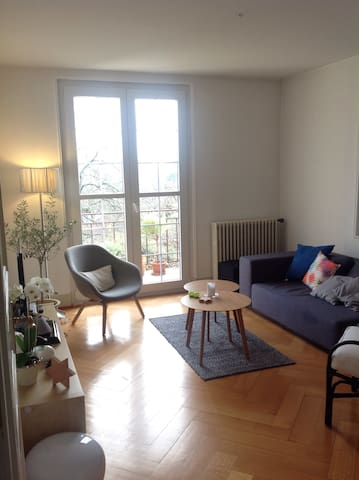 Calm and Charm in town - Morges - Appartement