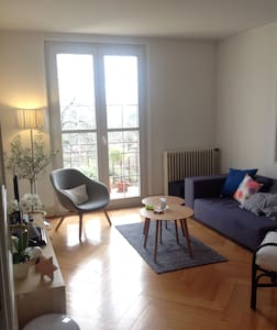 Calm and Charm in town - Morges - Apartament