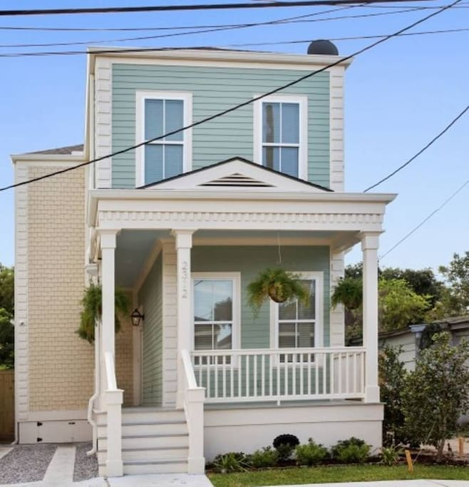 """New Home For Rent: """"5BR/3BA Beautiful Home Near FRENCH QUARTER!"""