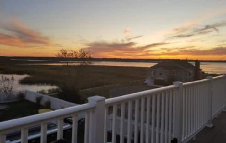 Plum Island Water Front Gem With Amazing Sunsets