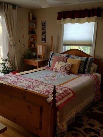 guestroom space