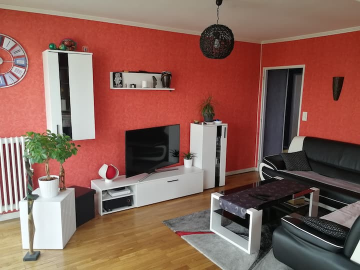Appartement lumineux et spacieux au cœur de Caen