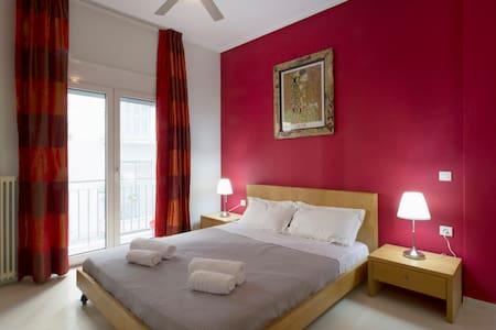 Cosy Apartment, 150m from Acropolis Metro - Athina - Huoneisto
