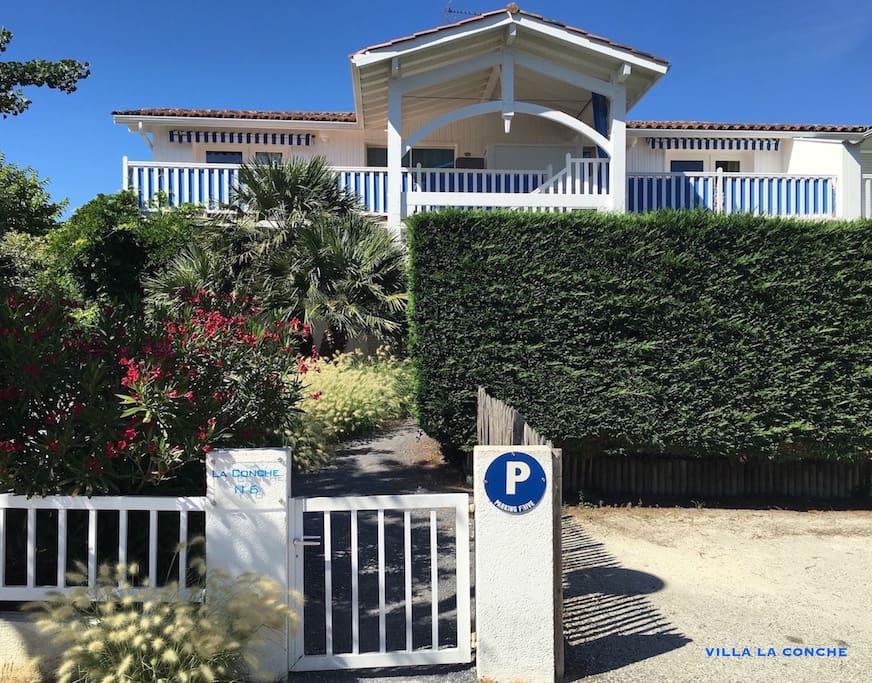 Villa La Conche façade
