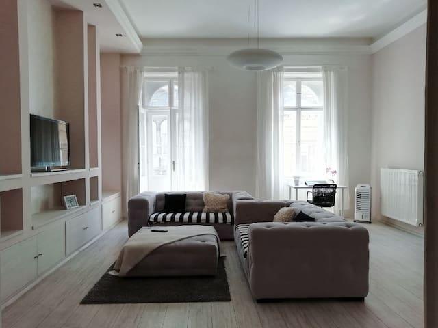 Luxury spacey Oktogon Ap with terrace