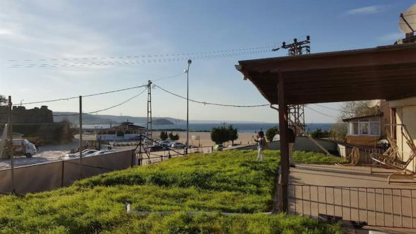 istanbul  Riva koyu,denız ve kumsal - Riva Köyü - Huis