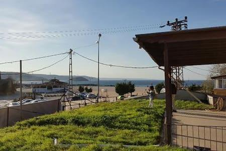 istanbul  Riva koyu,denız ve kumsal - Riva Köyü