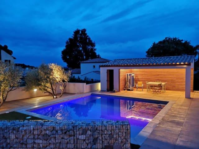 Villa moderne, idéal famille