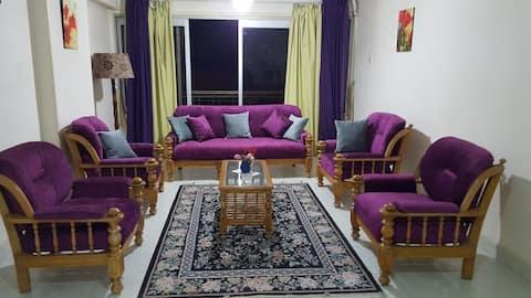 Lovely apartment in Nasr City beside Child's Park