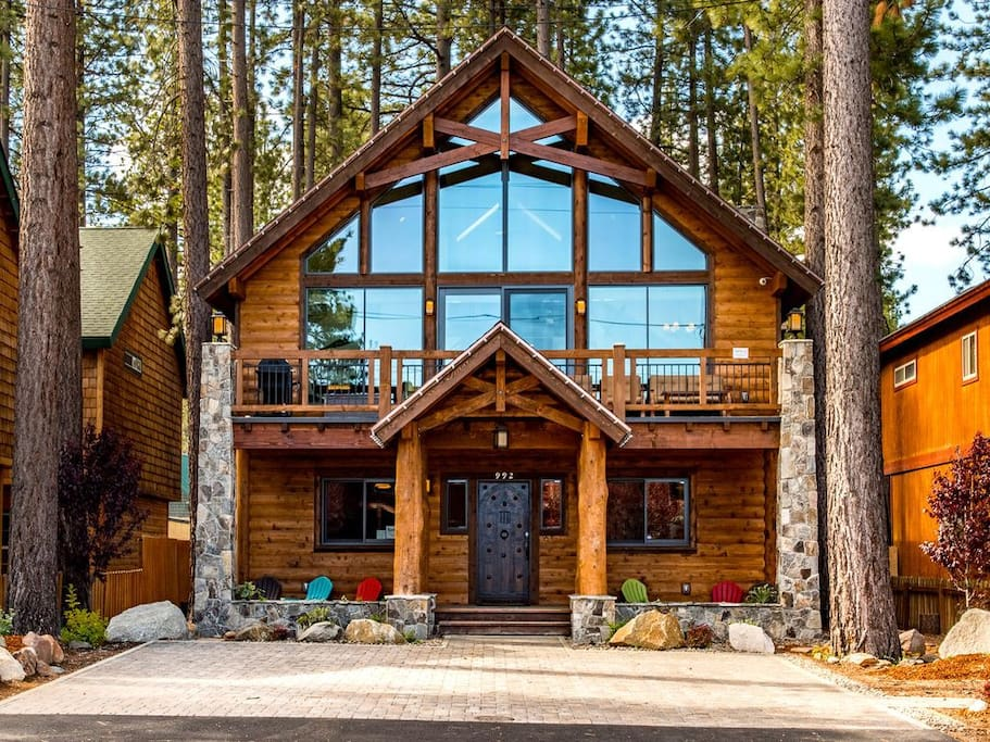 The Famous Cabin offers quintessential Tahoe charm!