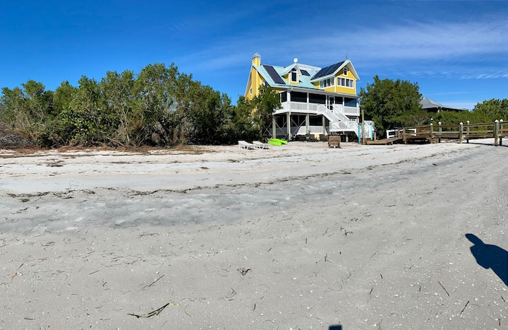 Old Florida Beach House, South End of Cayo Costa