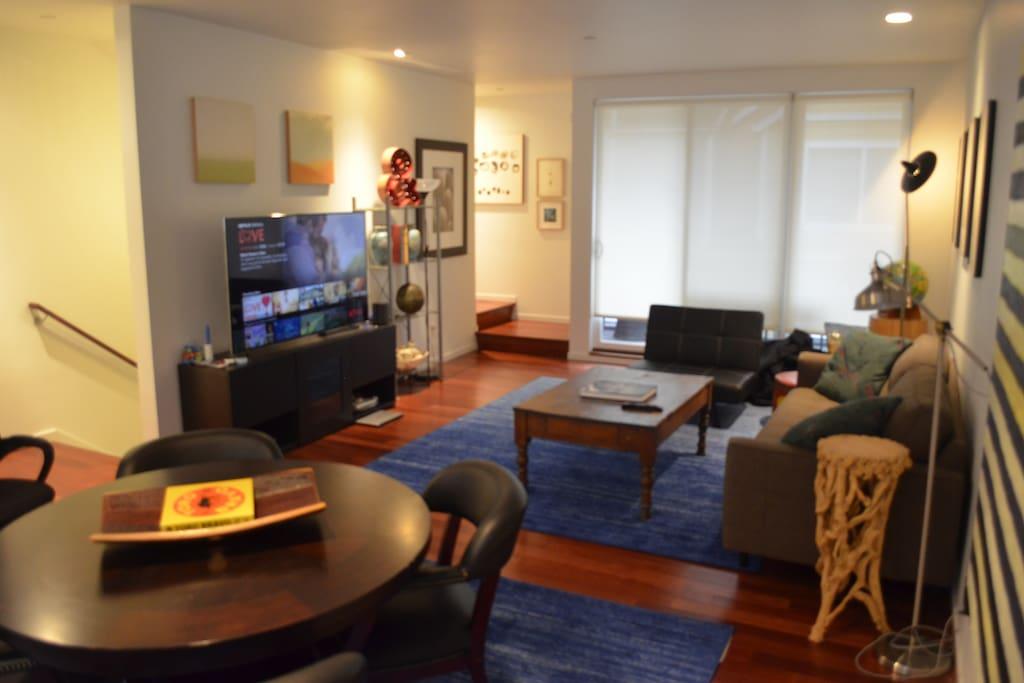 Living Room Facing Patio