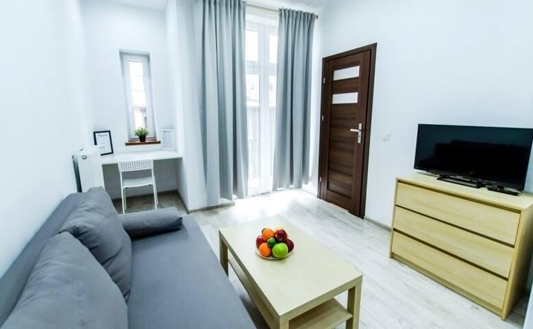 Apartment Katowice Moniuszki Street 12/7A
