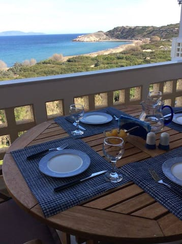 Seaside apartment with a view - Rafina - Lejlighed