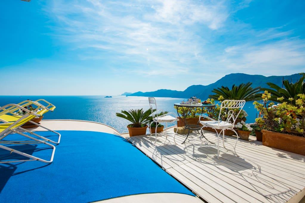 Terrazzo privato/Private terrace