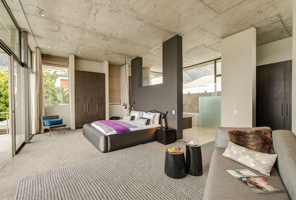 The spacious Panoramic Suite