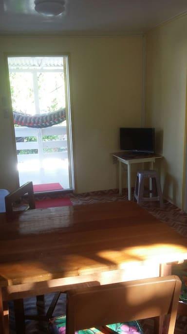 Cable tv or veranda..choices!