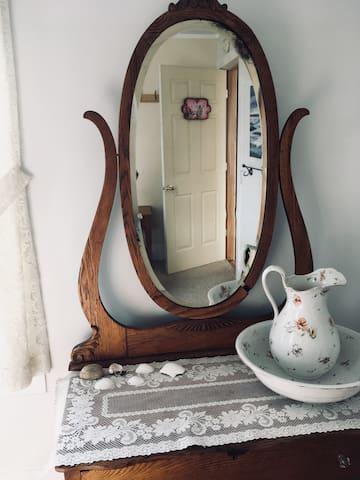 Vanity and dresser