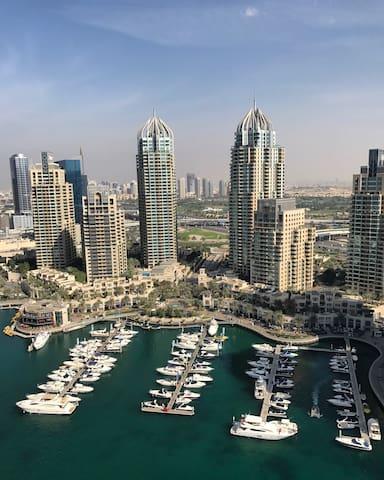 Beautiful Marina apartment with stunning views - Dubai - Apartment