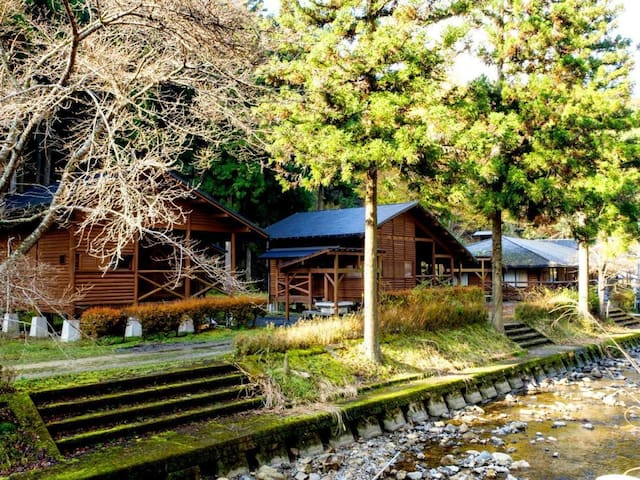 Mountain Resort in Kyoto 【コテージ6】No meal