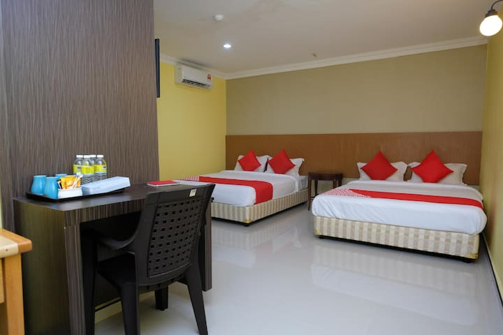 Rayyan Soffea Hotel- 1BR Family Suite Stay
