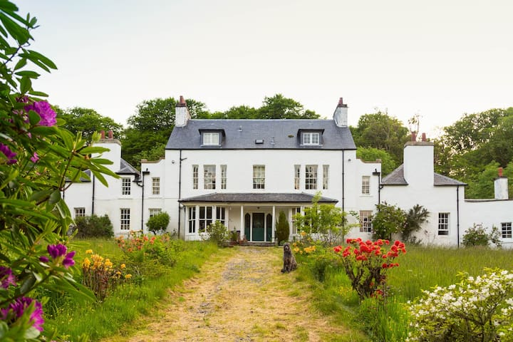 historic highland home by the sea - Broadford - Casa