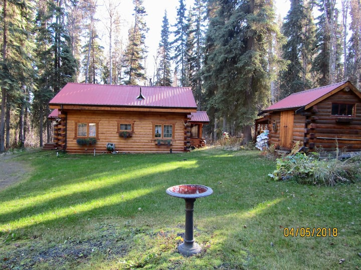 Peaceful, Cozy Cabin.  Chena Hot Springs Rd.