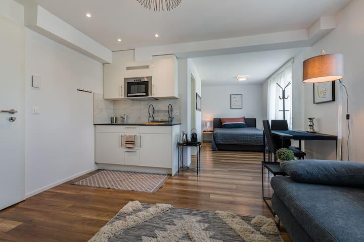 W15 1.5 möblierte Wohnung, Service Apartment