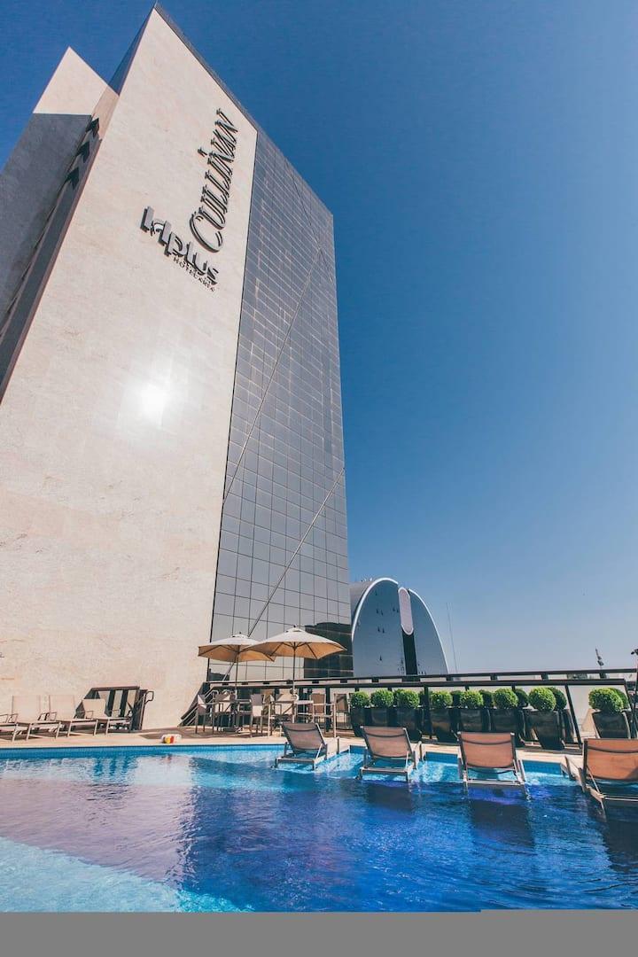 Flat no Hotel Cullinan - Setor Hoteleiro Norte