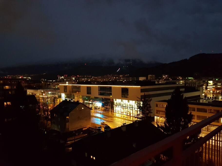 Ausblick auf Innsbruck
