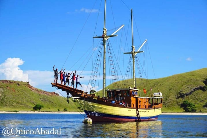 sleep on a pirate ship and pay extra for sailing