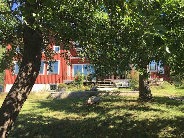 Family house close to the water and Stockhom city