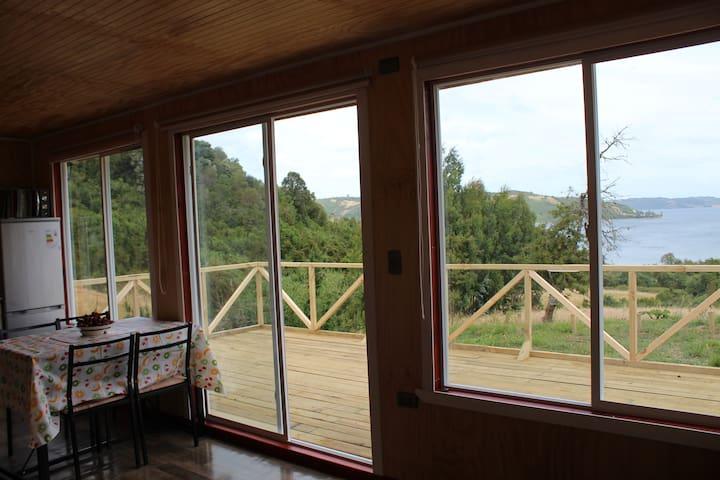 Cabaña de campo Cahueles Chiloé 2