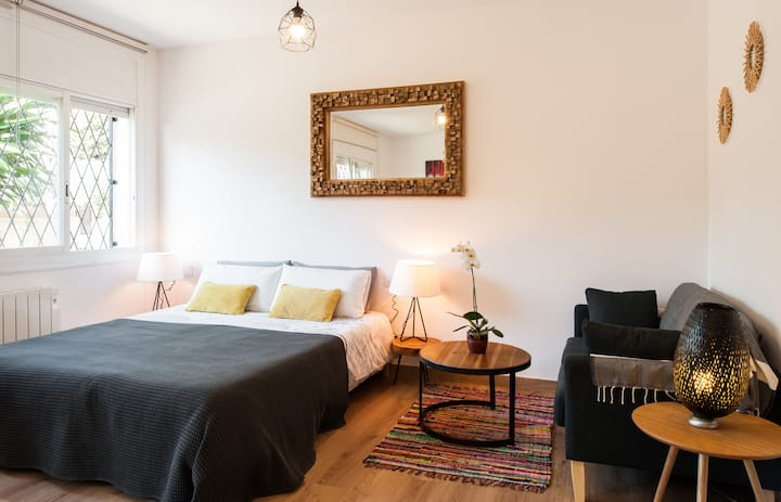 Cosy & Stylish studio in Sitges (30km from BCN)