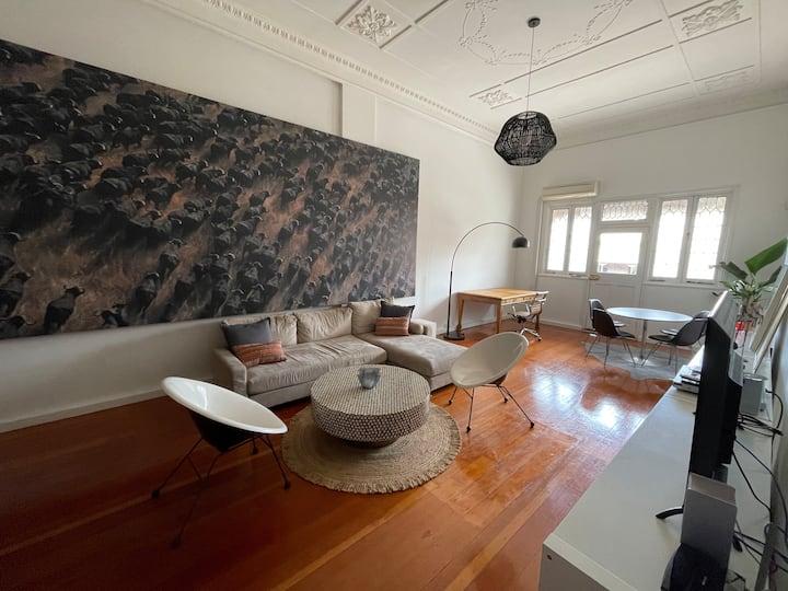 Huge New York Loft- a modern vintage beauty
