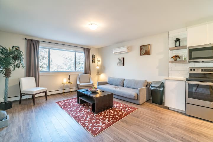 Sunny 2 bedroom in the Trendy North End