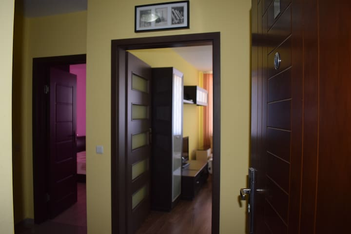 Modern flat opposite the biggest mall in the city