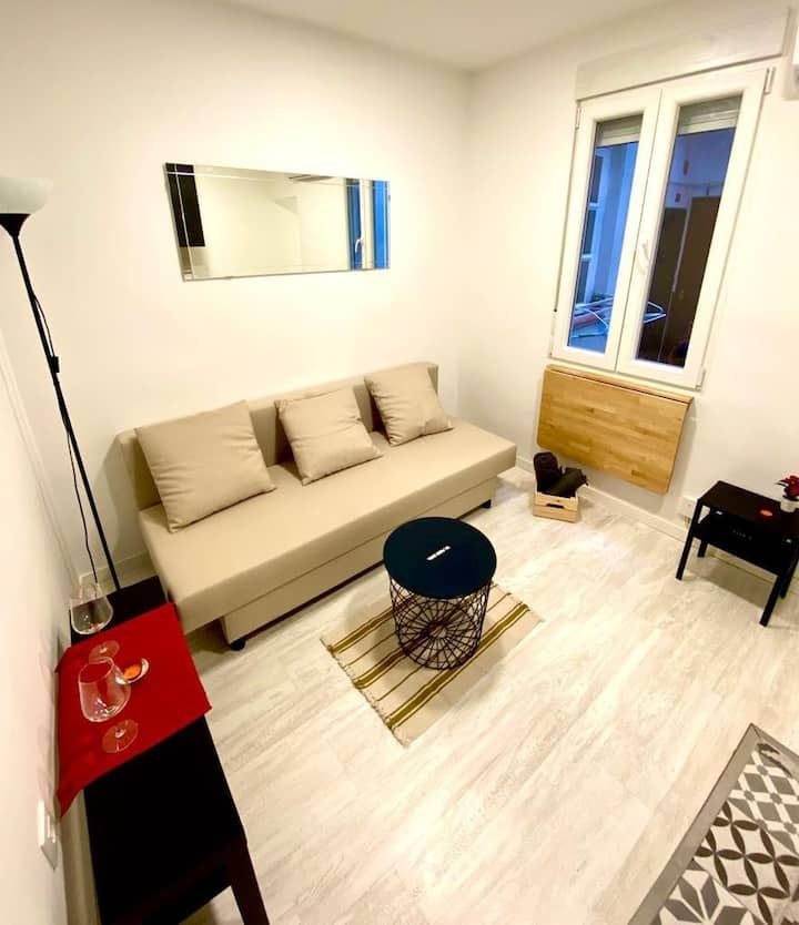 Brand new loft in the heart of Madrid AC/Wifi