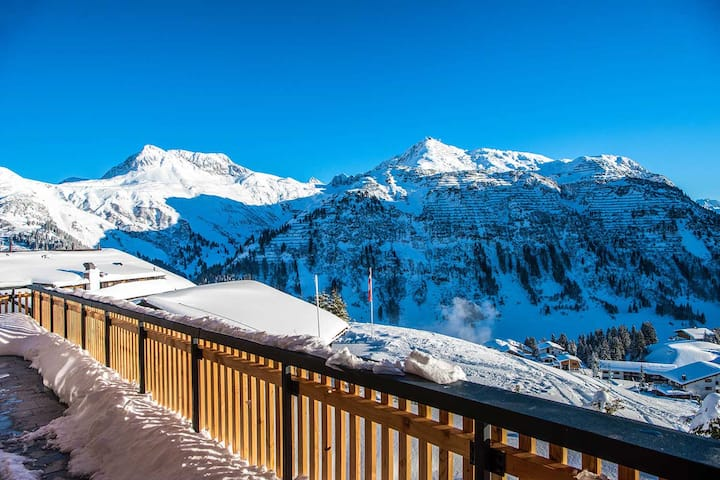 Lech is a luxury ski chalet