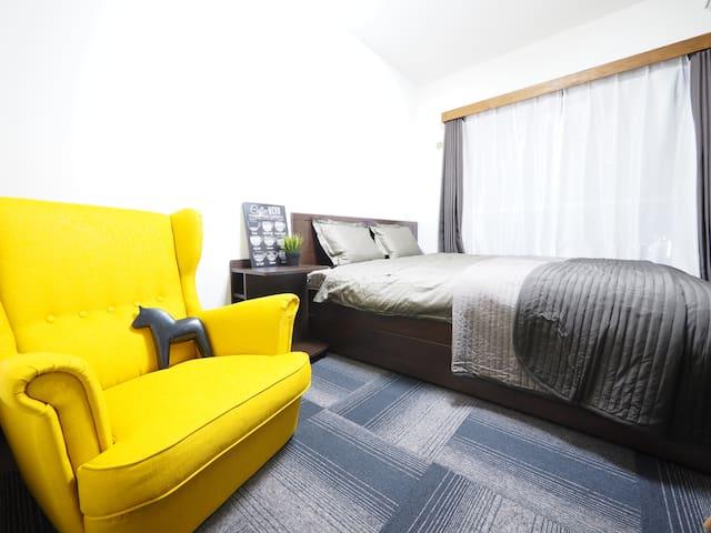 【Tokyo Big Sight / Tsukiji】 Queen size bed +WiFi - Chūō-ku