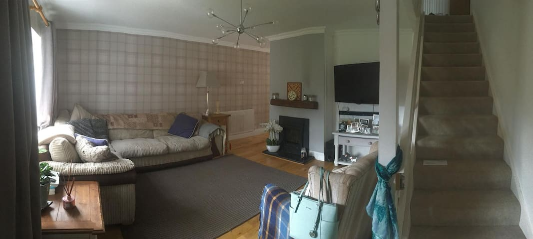 Double room in a family home
