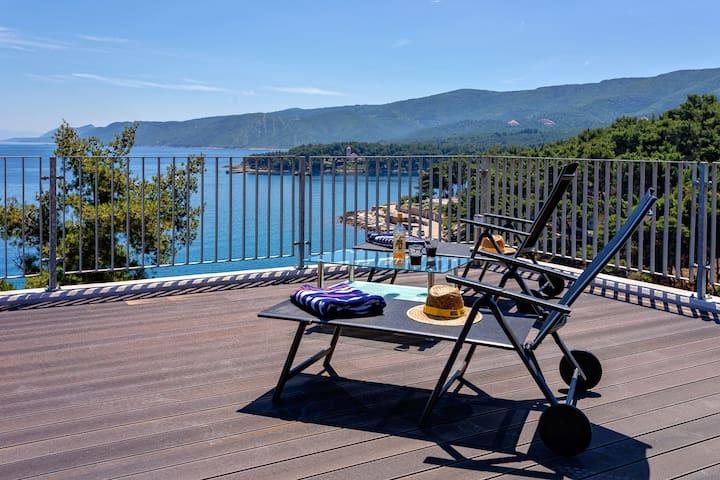 Luxury apartment close to a turquoise beach - (1) - Jelsa - Apartment