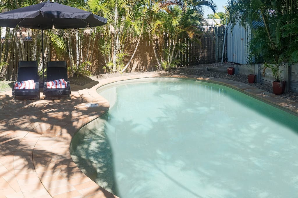 Secluded pool and garden, ready for you to relax