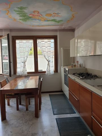 large two-room apartment in the heart of rimini