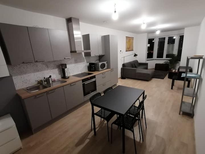 Appartement 4P aux portes de Liège, en Outremeuse.
