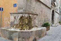 la fontaine a 10m