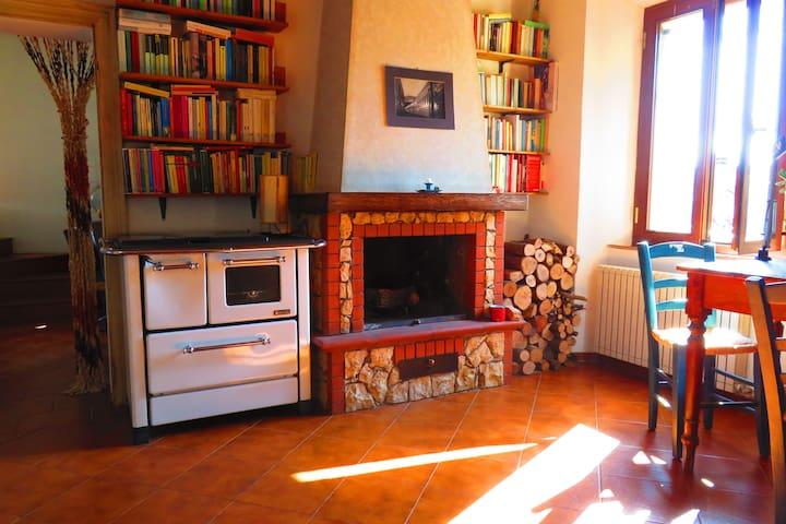 Appartamento nella campagna senese - Vescovado - Apartament