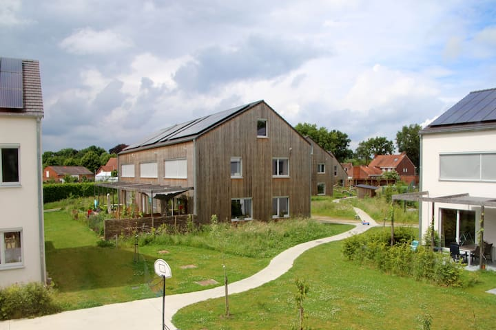 Ecohouse in Cohousingproject